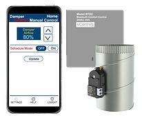 BTDC Bluetooth Airflow Control for 1 Zone