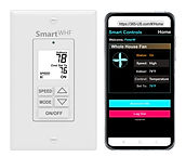 WTT Whole House Fan Wall Control with Add On WiFi. Temperature, Timer and Speed Control.