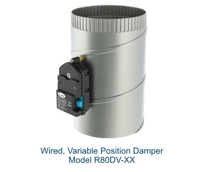 R80DV Modulating 3-Wire Damper