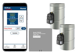 BTMC365 Bluetooth Airflow Control for 2 Zones