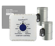 WC365 Wireless Airflow Wall Control for 2 Zones.