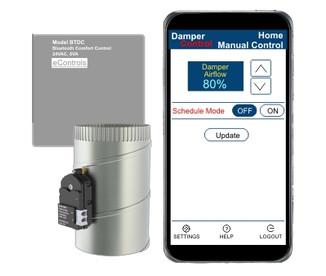 BTDC Bluetooth Airflow Control