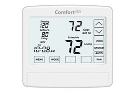 Comfort365 Thermostat with airflow control for 2 zones.