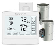 Comfort365 Thermostat with Airflow Control. New Construction.