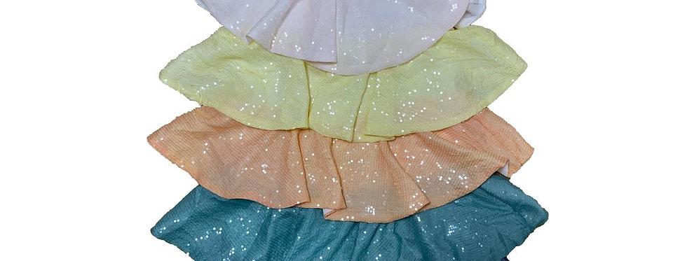 Shimmer Sequin Teir Dress