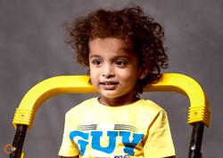 3 year kid portrait
