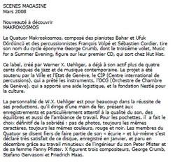 scenes magazine