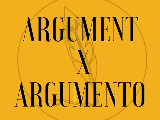 Argument x Argumento