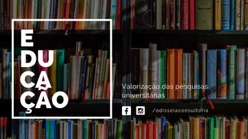 Valorização da educação brasileira