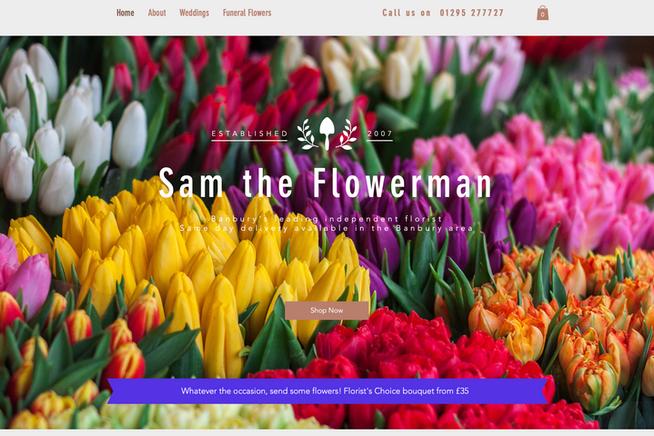 Sam the Flowerman