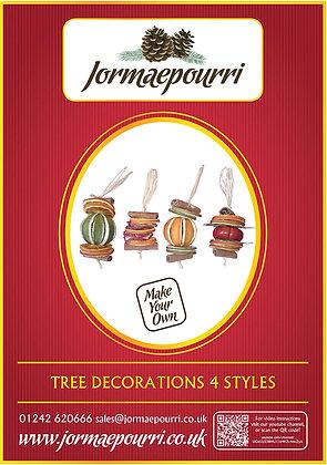 Four Tree Decorations