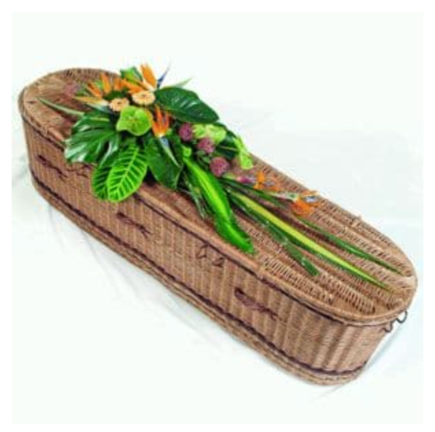Funky Exotic Casket Spray from £195