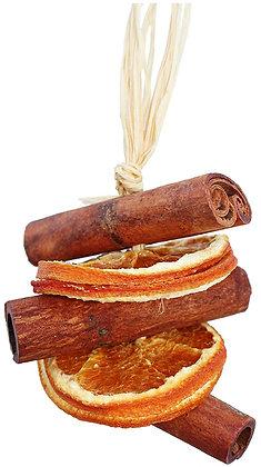 Tree Decoration: Cinnamon and Orange