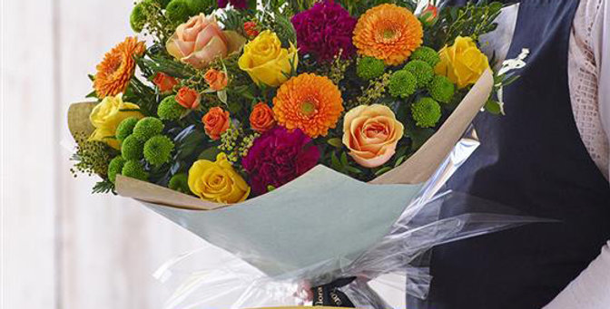 Florist Choice - Hand Tied - Brights - Large