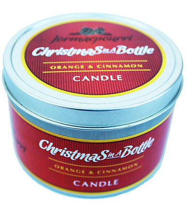 Christmas in a Bottle Candle
