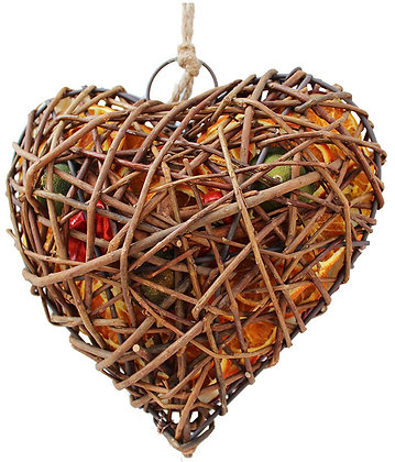 Fruit Wicker Case: Heart