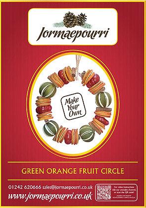Green Orange Circle