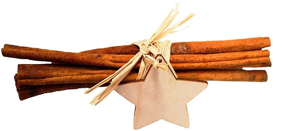 Cinnamon Sticks with a Star (available in 2 lengths)