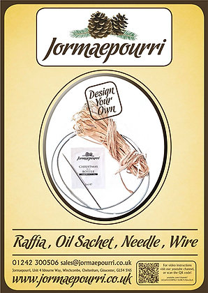 Raffia, Oil Sachet, Needle, Wire
