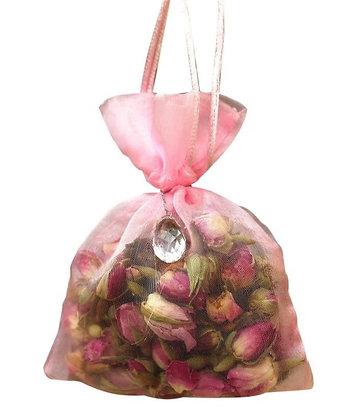 Rose Organza Bag- Pink