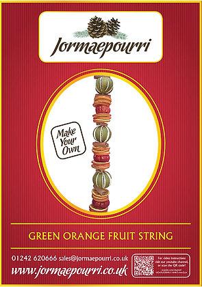 Green Orange Garland