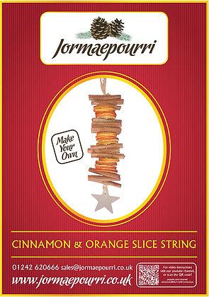 Cinnamon and Orange Garland Star