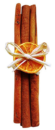 Cinnamon Sticks with Orange Slice (available in 2 lengths)