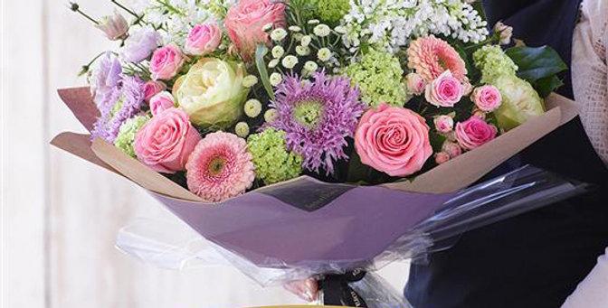 Florist Choice - Hand Tied - Pastels - Luxury