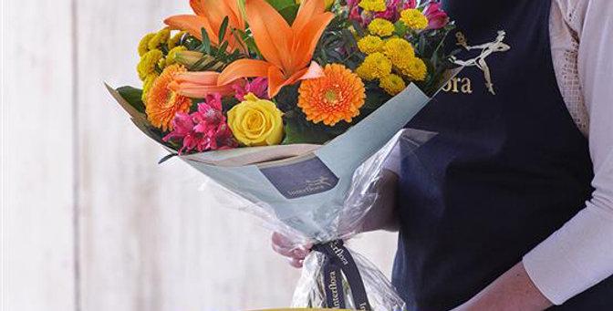 Florist Choice - Hand Tied - Brights