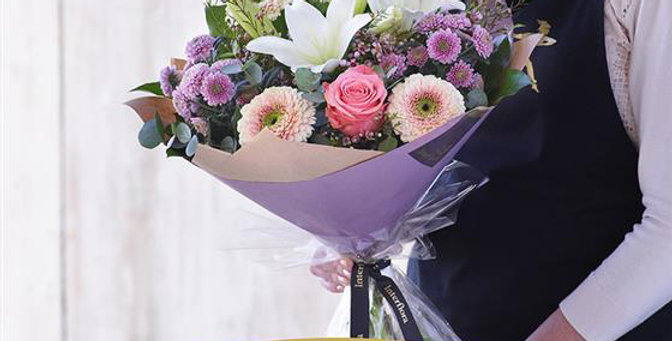 Florist Choice - Hand Tied - Pastels