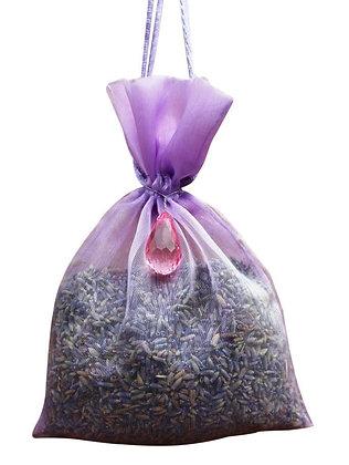 Lavender Organza Bag- Purple