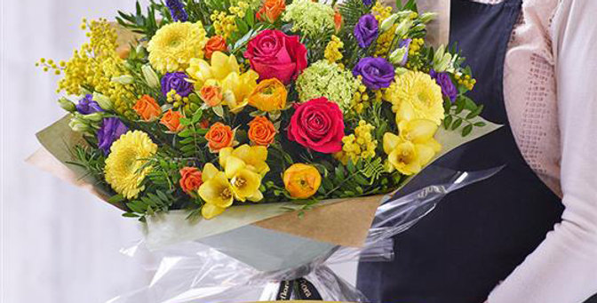 Florist Choice - Hand Tied - Brights - Extra Large