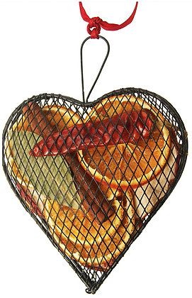 Metal Mesh Heart (3 colours and 2 sizes available)