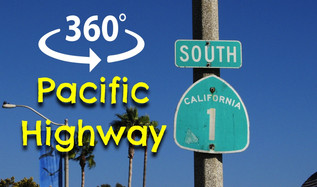 360º VIDEO: CRUISIN' THE PACIFIC HIGHWAY