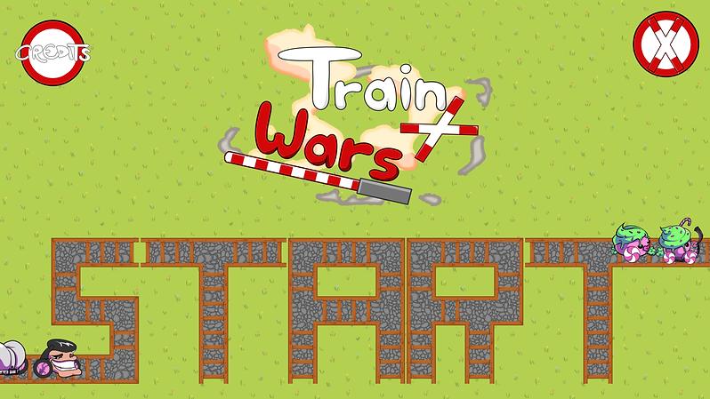 Trains Mini Game Concept Art Fun