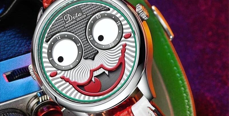 Joker Watch - Deri Kordon
