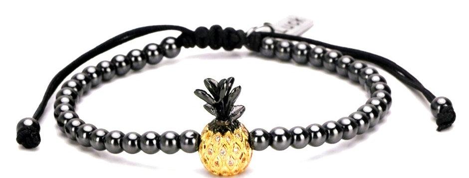 Pineapple Zirkon Bracelet