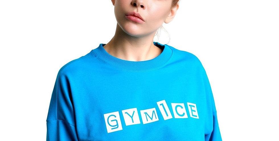 Crop Sweatshirt I Turkuaz