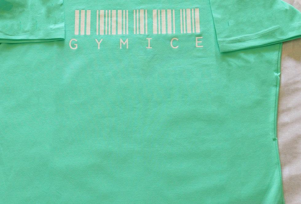 Regular Barcode Tshirt I Su Yeşili