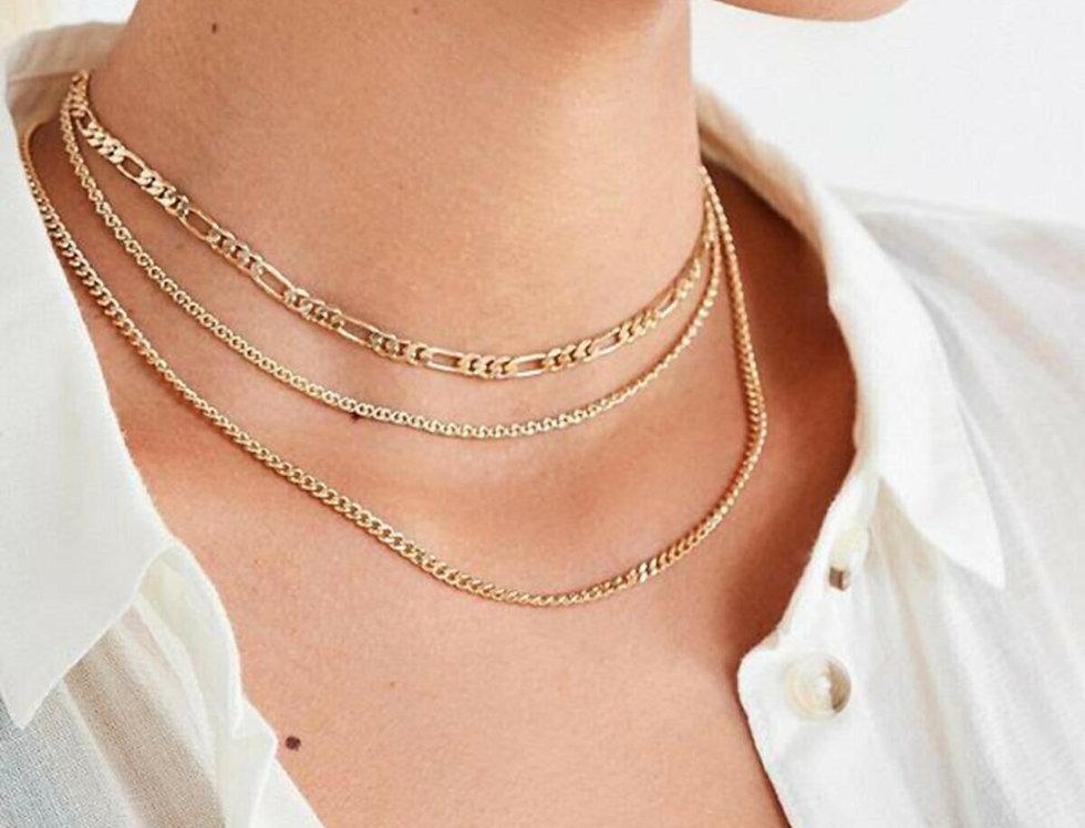 3 Layer Maya Necklace