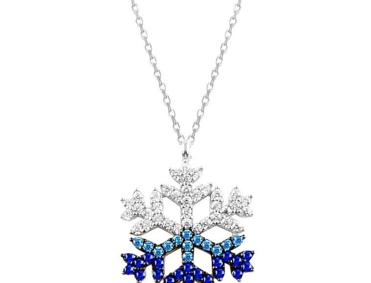Gymice Elite Logo Rhodium Necklace