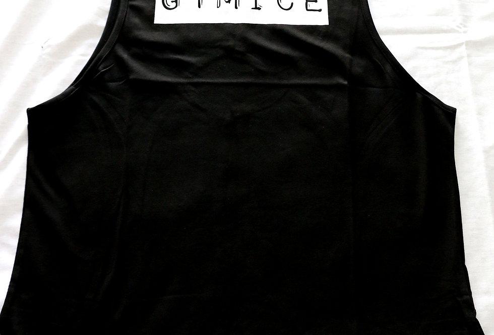 Oversize Woman Kolsuz T-shirt  I Siyah