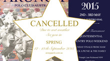 CANCELLED- WET WEATHER