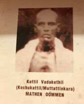 Founder of Kochukattil Family - Mathew O