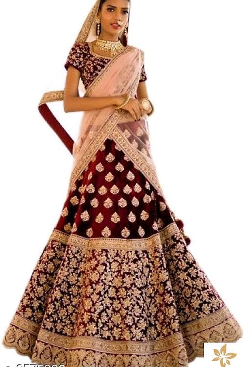 Trendy Heavy Satin Women's Lehenga