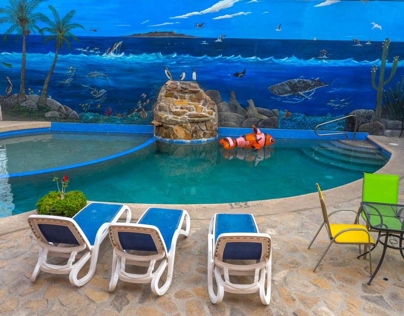 Hotel Posada Luna Sol Pool Side