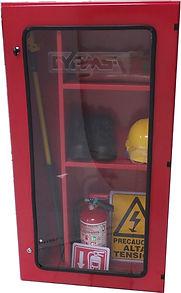 Gabinete para equipo de seguridad para operación y mantenimiento de subestaciones electriccas.