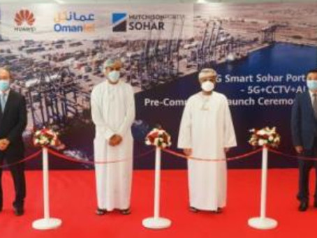 Hutchison Ports wraps up first 5G smart port demo in Middle East