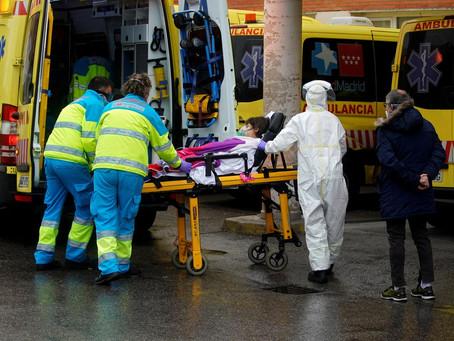 Spain overtakes China in coronavirus infections