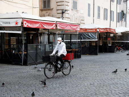 Italy's 'very long' lockdown to only end gradually